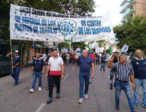 UOM CÓRDOBA PARTICIPÓ DE LA «MARCHA DE ANTORCHAS»